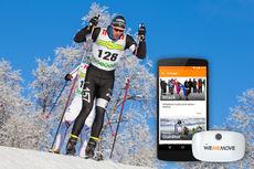 Jörgen Brink, trefoldig vinner av Vasaloppet, benytter WeMeMove i treningen. Foto: WeMeMove.