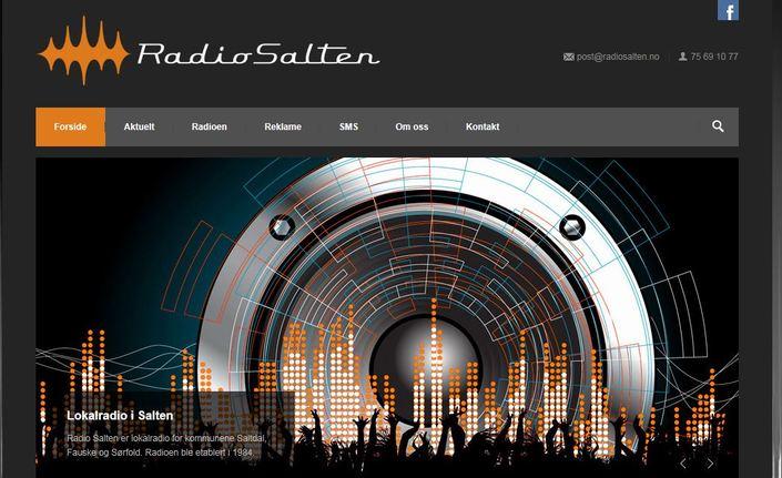Radio Salten forsidefoto