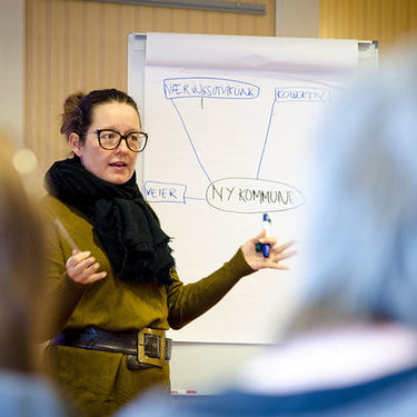 Ordfører Marianne Grimstad Hansen
