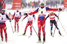 Emil Iversen nærmest lekte med konkurrentene under verdenscupsprinten i Lahti. Foto: Felgenhauer/NordicFocus.