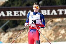 Thomas Bucher-Johannessen gikk inn til sjetteplass på 10 km klassisk under Junior-VM i Rasnov 2016. Foto: Erik Borg.