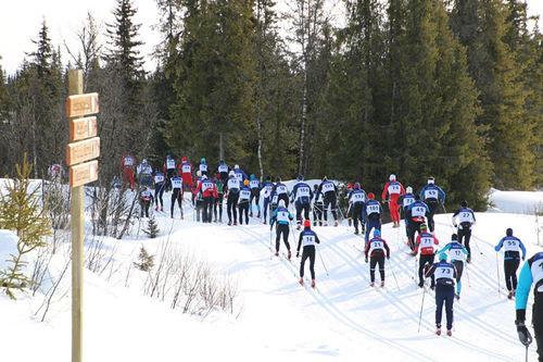 Fra Mellerunden forrige vinter. Foto: Inger Helene Nybråten.