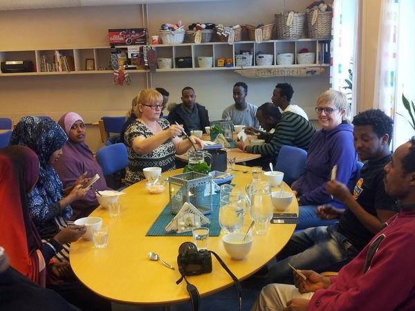 Triveleg stund på språk Kafeen torsdag den 3.mars.