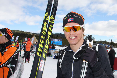 Christoffer Callesen. Foto: Geir Nilsen/Langrenn.com.
