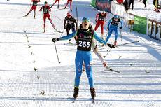 Tuva Bakkemo inn til seier i kvinner 17 år sin Norgescup-finale på Beitostølen. Foto: Erik Borg.