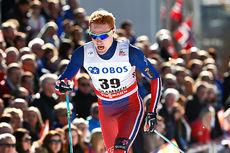 Vegard Bjerkreim Nilsen under verdenscupen i Drammen 2015. Foto: Felgenhauer/NordicFocus.