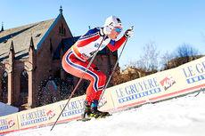 Martin Løwstrøm Nyenget i aksjon under verdenscupen i Drammen 2016. Foto: Felgenhauer/NordicFocus.