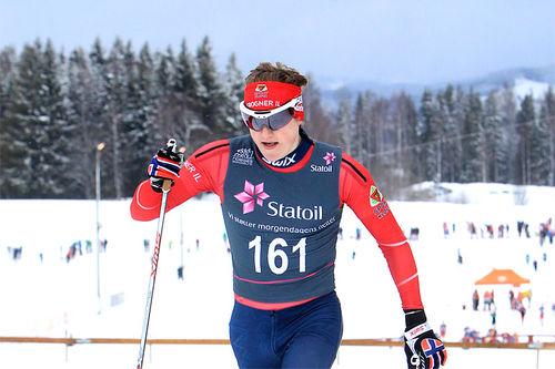Landslagsløper Herman Martens Meyer. Foto: Erik Borg.