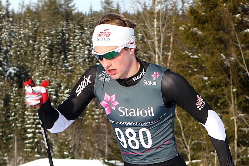Thomas Bucher-Johannessen er en av Fossum IFs mange sterke kort. Foto: Erik Borg.