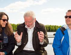 Riksantikvaren på besøk sammen med ordfører Marianne Grimstad Hansen