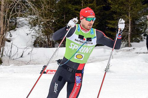 Andreas Nygaard best i Kanalrennet 2016 søndag, her er han i Kaiser Maximilian Lauf fra i vinter. Foto: Rauschendorfer/NordicFocus.
