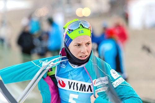 Lina Korsgren overbeviste Thomas Alsgaard om at det var på tide med damer i Team LeasePlan. Foto: Rauschendorfer/NordicFocus.