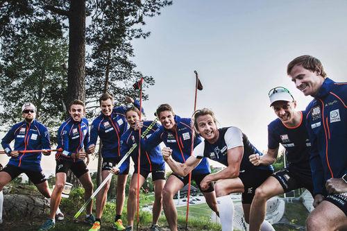 Lagbilde for Team Jobzone 2016/2017. Aksel Rosenvinge mangler på bildet. Foto: Team Jobzone.