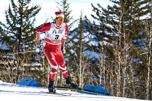 Devon Kershaw under Ski Tour Canada 2016. Foto: Felgenhauer/NordicFocus.