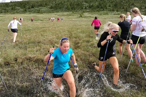 Fra Skiforbundets Jentesamling ved Storefjell på Golsfjellet i Buskerud. Foto: Norges Skiforbund.