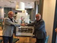 Ordfører takker av avtroppende styreleder i Næringsparken