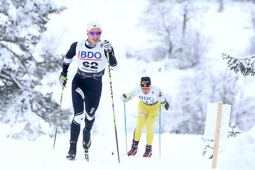Karstein Johaug er blant løperne i Team Hadeland. Foto: Erik Borg.