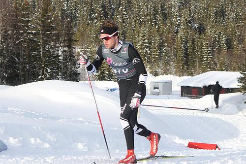 Johan Sørum Gangsø er en av de sterke kortene i laget. Foto: Erik Borg.