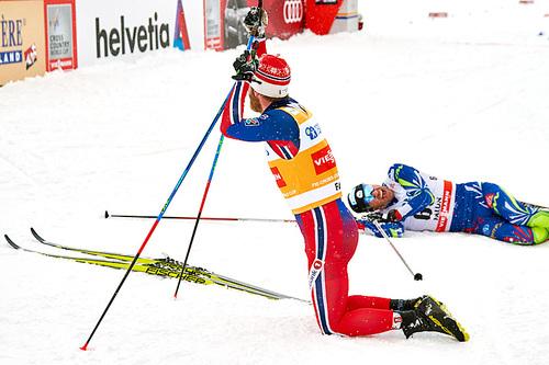 Martin Johnsrud Sundby under verdenscupen i Falun 2016. Foto: Felgenhauer/NordicFocus.