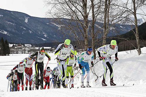 Underveis i Gsiesertal Lauf 2016. Arrangørfoto.