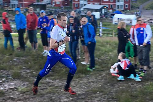 Magne Dæhli gjorde nok et sterkt løp på O-Ringens 3. etappe, supersprinten i Lindvallen ved svenske Sälen. Foto: Geir Nilsen/Langrenn.com.