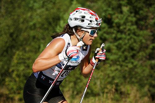 Heidi Weng. Foto: Geir Nilsen/Langrenn.com.