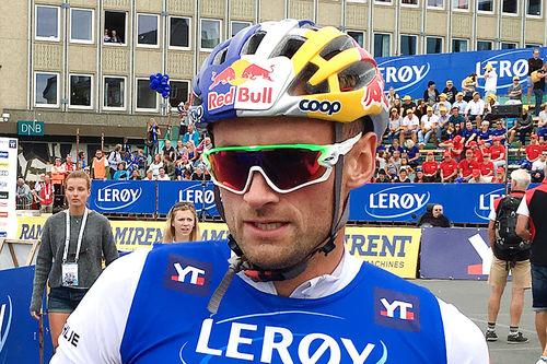Petter Northug er en av de store stjernene som deltar i Telemarksveka 2017. Her fra Toppidrettsveka forrige sommer. Foto: Geir Nilsen/Langrenn.com.
