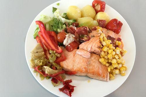 Helsedirektoratet anbefaler fisk 2-3 ganger i uken. Foto: Geir Nilsen/Langrenn.com.