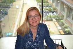 Lise Lundh FUG-medlem i trapp