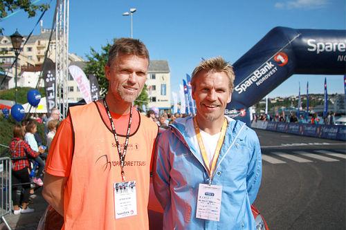 Håvard Sagli og Harald Fladseth er primus motorer for Toppidrettsveka. Foto: Geir Nilsen/Langrenn.com.