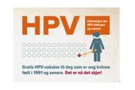 Tilbud om gratis HPV-vaksine
