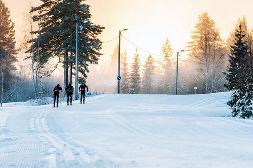 Lørdag 29. oktober åpner 6 kilometer skiløyper på Trysil. Foto: Hans Martin Nysæter/Destinasjon Trysil.