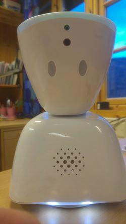 Roboten liknar kanskje ikkje på ein heilt vanleg elev!