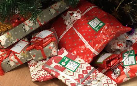 juletre vennskapsgaver under treet