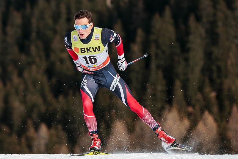 Finn Hågen Krogh viser god kraft og sterk fremdrift i skøyting. Foto: Modica/NordicFocus.