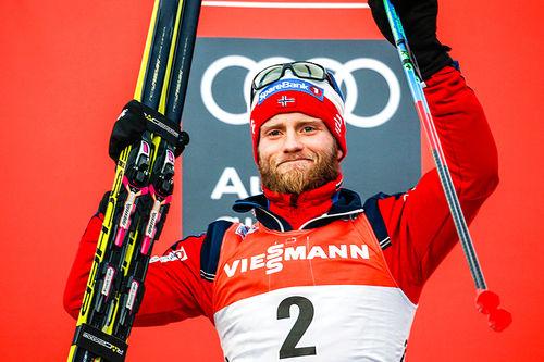 Martin Johnsrud Sundby tok andreplassen sammenlagt i Tour de Ski 2016-2017. Foto: Modica/NordicFocus.