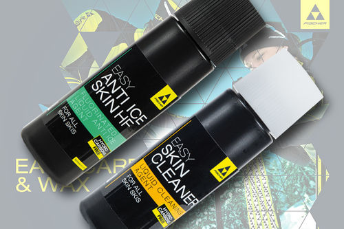Fischer har kommet med Easy Skin Cleaner og Easy Anti Ice Skin for felleski / skin ski. Foto: Fischer.