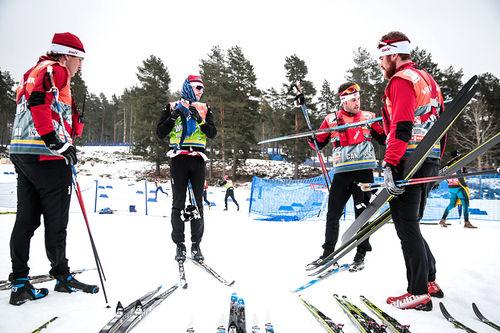 Skitesting under helgens verdenscuprunde i Falun. Foto: Modica/NordicFocus.
