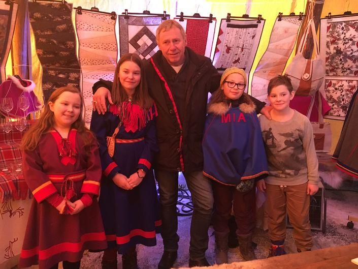 samiske elever fauske ordfører jørn stene