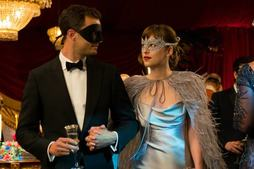 Jamie Dornan og Dakota Johnson i Fifty Shades Darker
