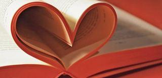 Biblioteklogo - bokhjerte