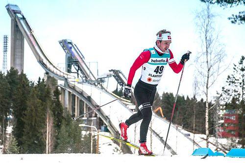 Jens Hulgaard i aksjon under VM i Lahti 2017. Foto: NordicFocus.
