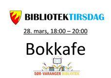 BIBLIOTEKTIRSDAG, 28