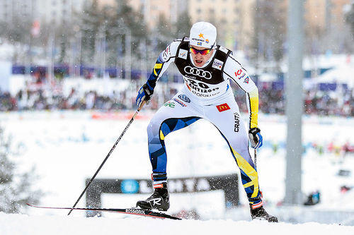 Teodor Peterson under VM i Lahti 2017. Foto: Modica/NordicFocus.