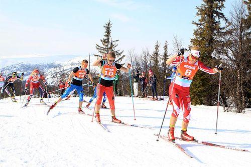 Vårperioden er flott for både konkurranser og god trening på snø i fjellet, men det er også viktig å fokusere på andre aspekter gjennom april måned. Foto: Erik Borg.