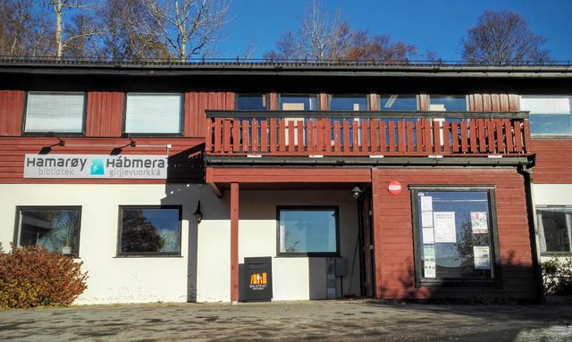 Hamarøy bibliotek - fasade