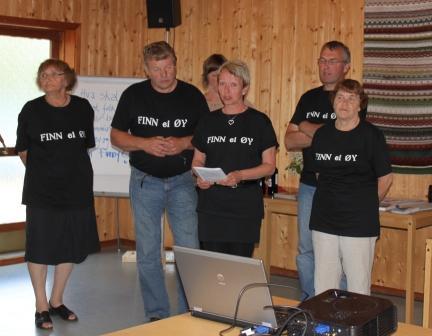 Representanter fra Finnøy grendelag, foto: Elin Eidsvik
