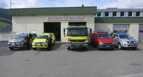 5 brannbiler