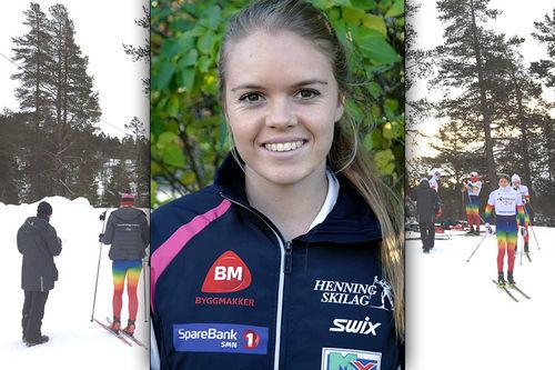 Tina Bøgseth er klar som ny trener for Hovden Skigymnas. Foto: Hovden Skigymnas og Privat. Collage: Langrenn.com.
