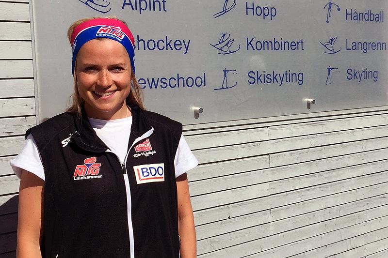 NTG Lillehammer Langrenn forsterker trenerteamet med tidligere landslagsløper Marthe Kristoffersen. Foto: NTG Lillehammer.